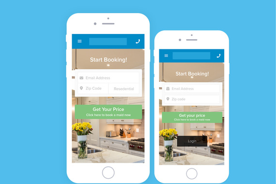 House Cleaning Booking Interface