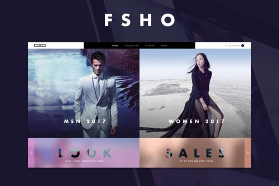 FSHO | Webstore UI