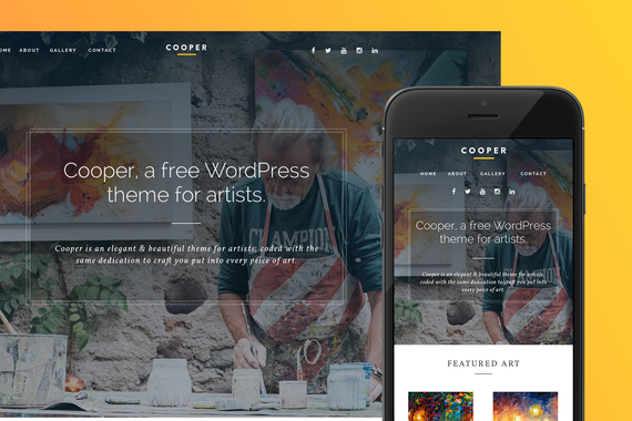Cooper WordPress Theme