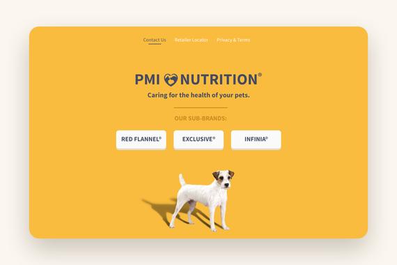 PMI Pet Web Design
