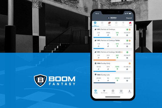 Boom Fantasy iOS app