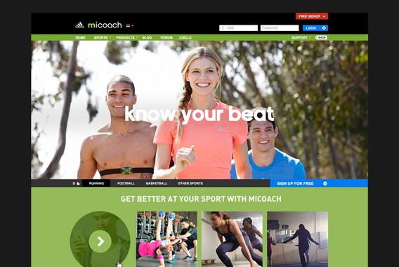 Adidas miCoach 2.0
