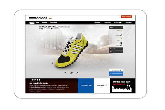 Mi Adidas Kiosk Retail App