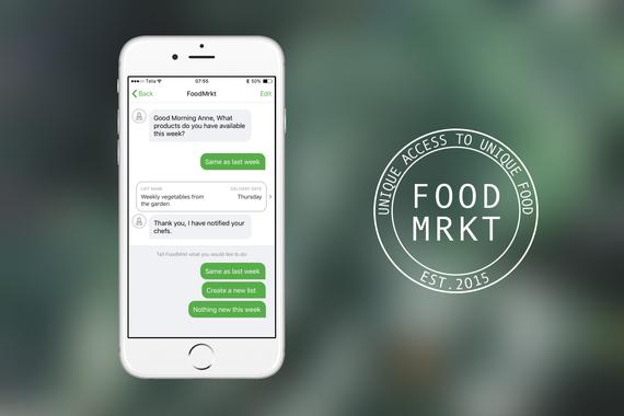 FoodMrkt iPhone App