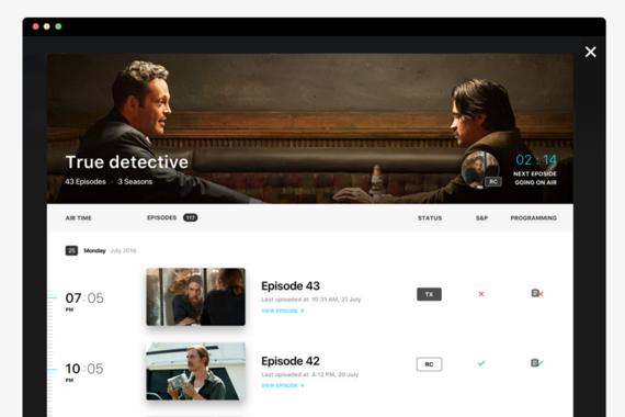 Star — TV Show Management App