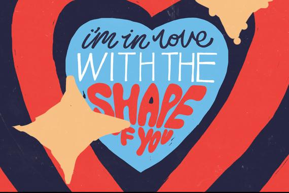 Ed Sheeran - Shape Of You (Animated Video)