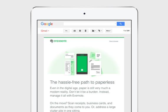Evernote Email Campaigns