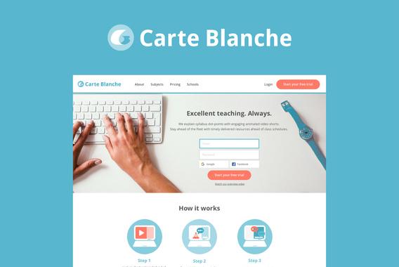 Education Startup | Branding & Web App
