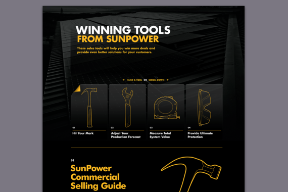 SunPower | Microsites, Landing Pages, Promotions