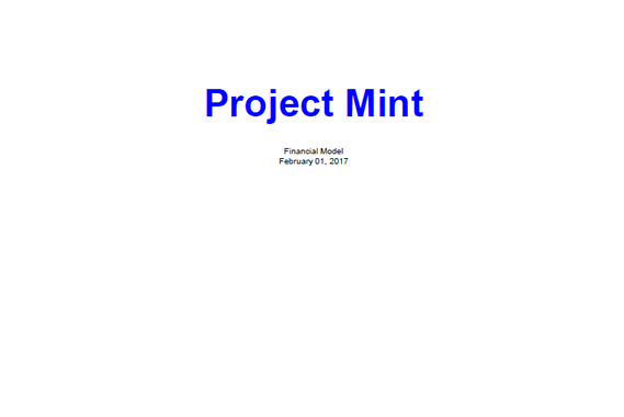Project Mint