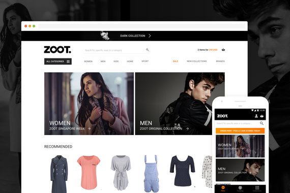 ZOOT | eCommerce in Fashion