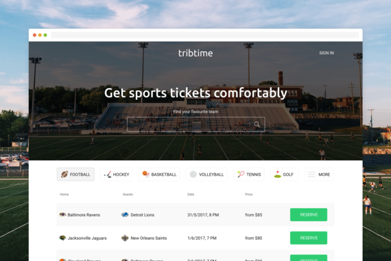Tribtime | Get Sports Tickets Comfortably