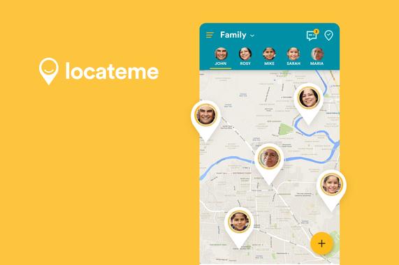 LocateMe | Android App