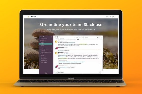 Karmabot for Slack, MS Teams and Telegram