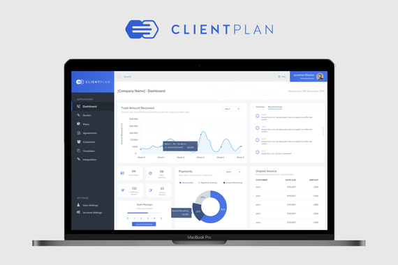 Client Plan   Web Application Project