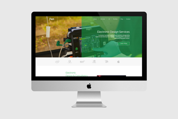 Fen Technology Responsive Website Project
