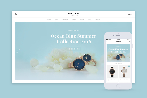 Obaku Website Redesign