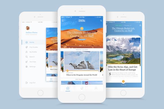 Travel+Leisure iOS Mobile App