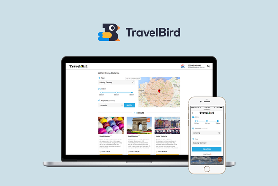 TravelBird – Travel Offers by Car for the German Market