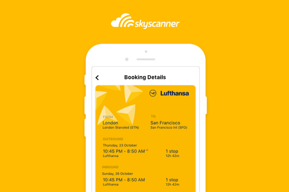 Skyscanner | Booking Panel Project