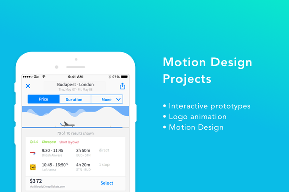 Motion Design Projects