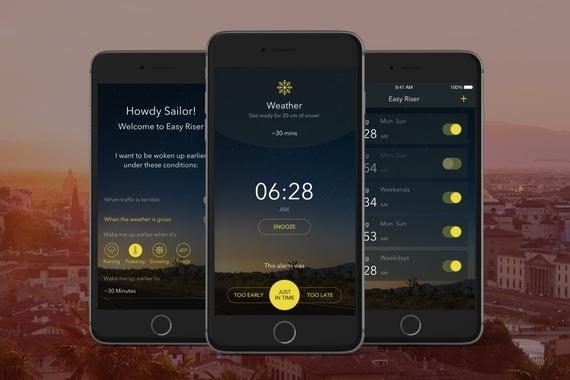 Easy Riser iOS App