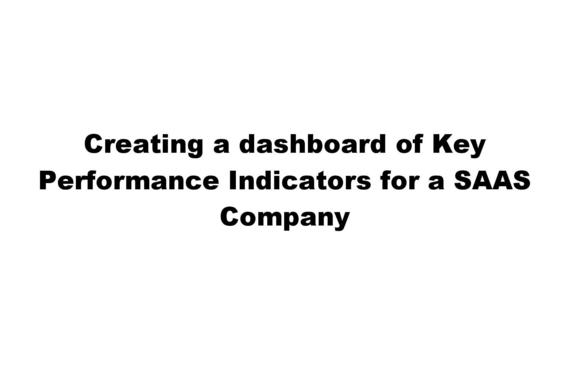 Creating a Dashboard and Modifying Board Reports for a SaaS Company