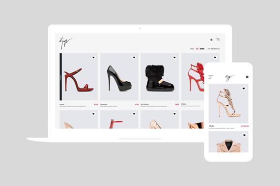 Giuseppe Zanotti | Fashion eCommerce