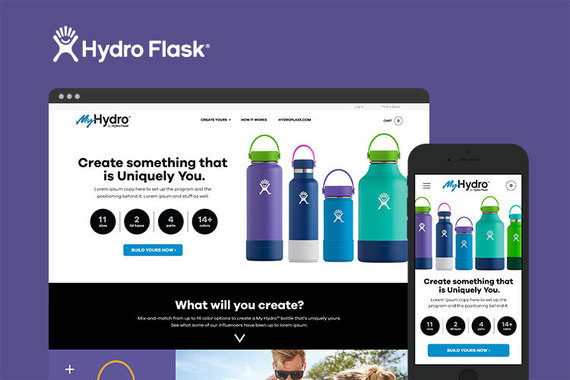 Hydro Flask Program Launch and Microsite