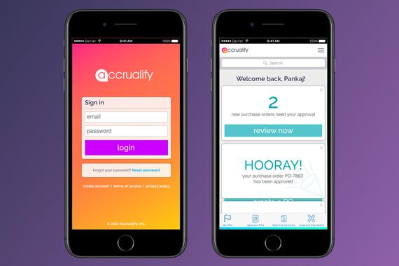 Accrualify Employee Portal Mobile App