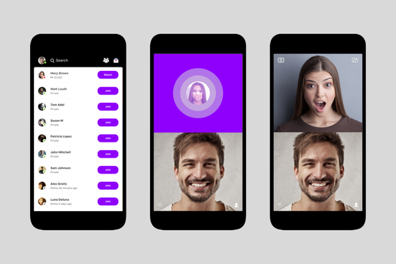 Social Group Video Chat App