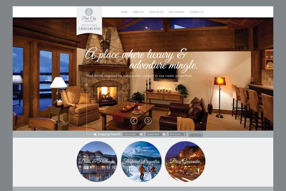 Park City Vacations Website