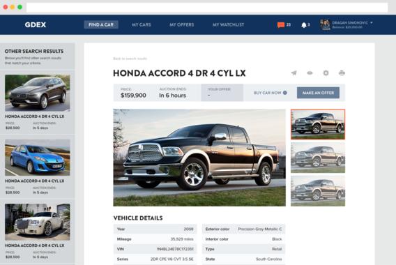 International Wholesale Vehicle Marketplace