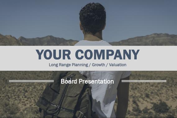 Board Presentation