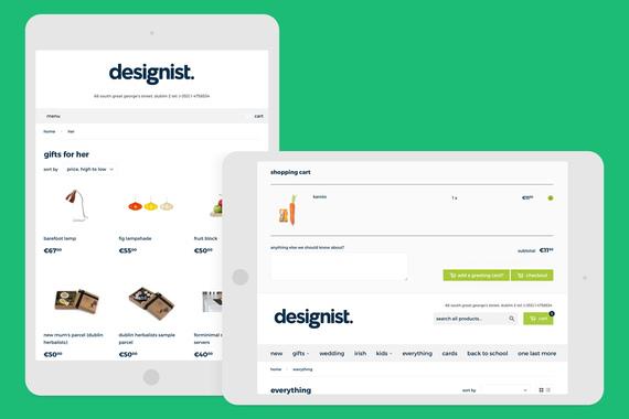 Designist eCommerce UI