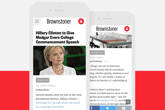 Brownstoner UI Redesign