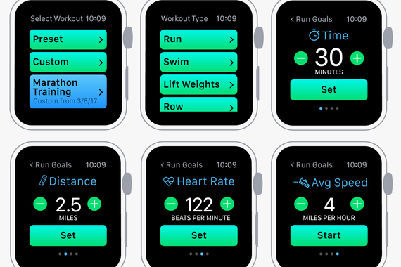 Personal Gym Assistant App for Apple Watch
