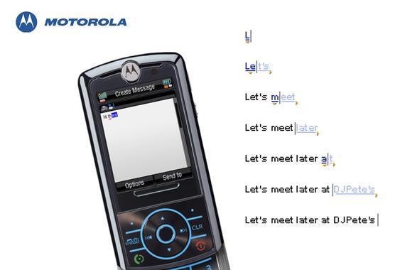Motorola | Smart Texting