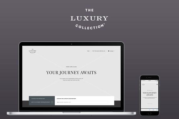 Luxury Collections Destinations Website