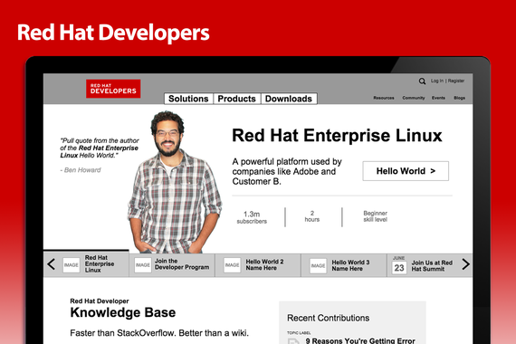 Red Hat Developers' Site