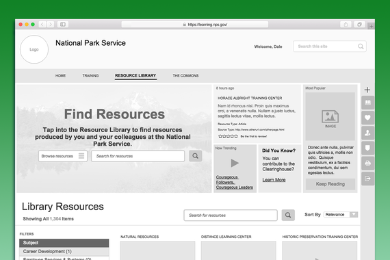 National Park Service Learning Portal