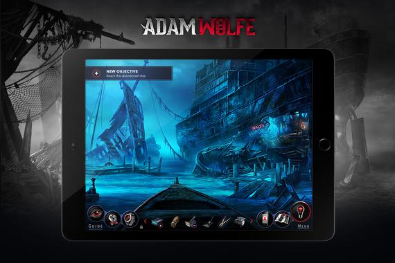 Adam Wolfe Game UI