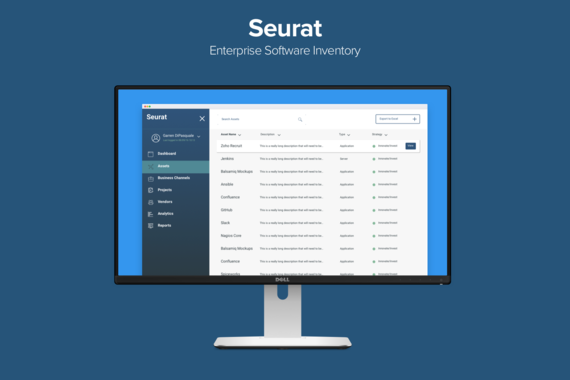 Seurat Enterprise Software Inventory