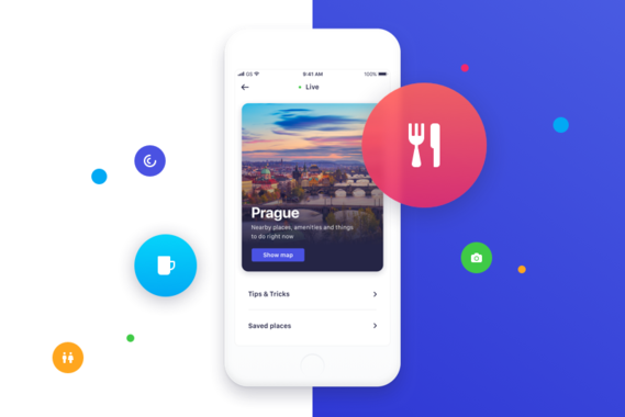 Blip Travel App