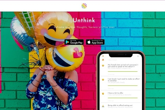 Mental Health App Design | Cognitive Behavioral Therapy