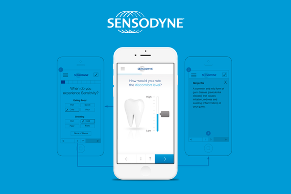 Sensodyne | Responsive Website