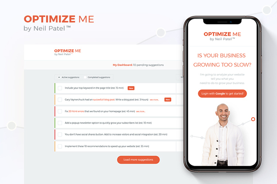 Optimize Me by Neil Patel