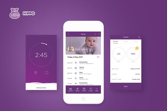 Hippo | Baby Tracker App
