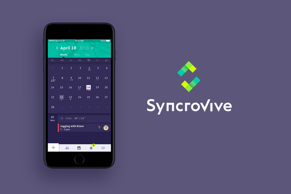 SyncroVive | Mobile App UX/UI Design and Branding