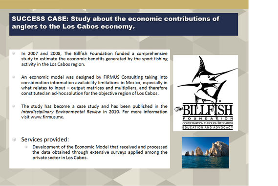 Economic Study on the Contributions of Anglers